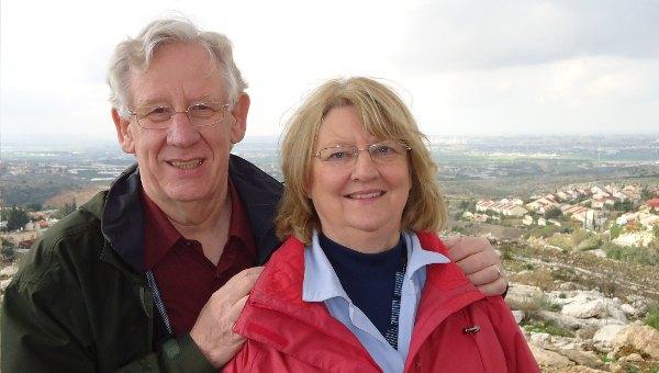 Peter & Fi in Israel