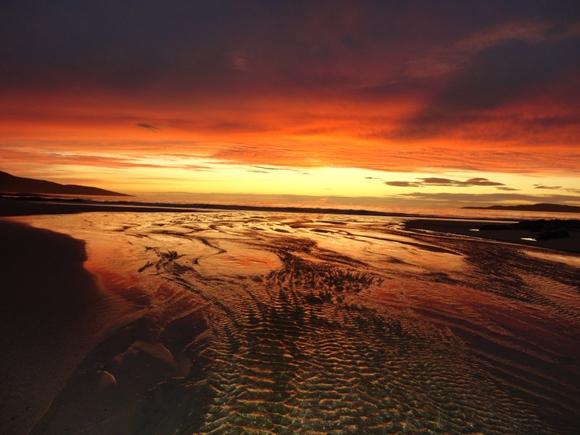 Scottish Sunset on 4th September